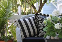 Outdoor Space / Decorating ideas for your outdoor space. Patio, deck, backyard, porch, outdoor furniture.