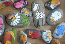 Pebble , Stone & rock art