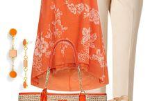 narancssárga öltözék tavasz/nyár