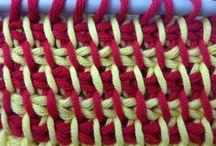вязание - Тунисское вязание