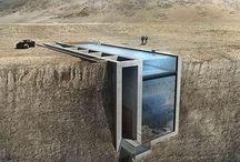 Не для слабонервных – Casa Brutale / Дом в скале с видом на Эгейское море – это задумка греческих архитекторов Laertis-Antonios Vassiliou и Pantelis Kampouropoulos.