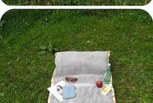 пляжное полотенце-сумка