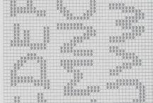 Gráficos del alfabeto