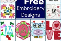 Embroidery / Tips, tricks, designs, downloads, and pallets