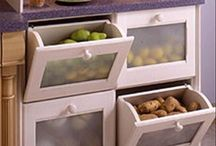 Vegetables and fruits cabinet