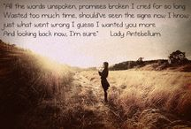 Songs and Lyrics / by Lacey Elizabeth