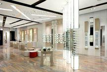 Optik & Gözlük Mağaza Dekorasyonu Tasarımları