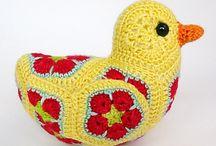 African flower / African flower Crochet