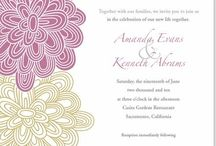 Invitations, designs & such / by Jessi Crossley
