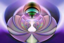 Beautiful Math - Mostly Fractals / by Liesl Garner