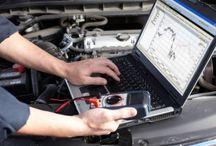 Kompiuterinė diagnostika / Automobilio diagnostikos metu Autodraivas darbuotojai prisijungs prie automobilio elektroninių valdymo blokų ir matys kaip veikia elektroninė valdymo sistema.