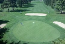 Tee Time / We invite you to come check out our public, year-round, challenging 18-hole course.