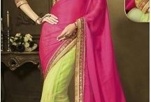 Traditional Saris Online / Buy traditional sarees for women online in India. Shop for ethnic, casual, party art silk, cotton, silk, & synthetic options, Silk Saris Online,Soft Silks at www.heenastyle.com/traditional-sarees.