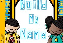 All About Me Unit/ Learning Names / Resources for All About Me Unit and learning names; includes Chicka Chicka Boom Boom activities; activities about feelings; activities about feelings; Chrysanthemum activities
