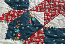Patchwork and Quilting / for the love of needle and thread, appliqué and english paper piecing / by Valita