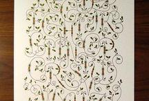Cursive writing / by Nika Dubrovsky