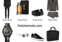 Hugo Boss uomo / Hugo Boss collezione e catalogo primavera estate e autunno inverno abiti abbigliamento accessori scarpe borse sfilata uomo.