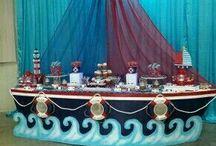 Nautical Theme First Birthday Party