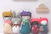 Dolls / Creations of cloth