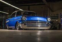 Bodie Stroud's '57 Chevy BelAir! / www.BodieStroud.com   / by Jammin Jo