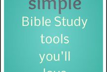 Bible Study Tools / by Roxanne Broussard