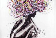 StudioEdin Paintings / art, konst, konstnär, konstnärsskap, artist, måleri, design, designer Art by Edin Dzanic
