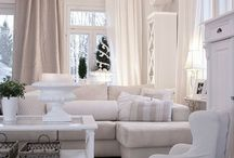 all white design styles