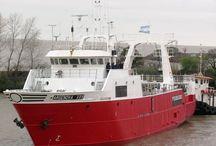 """Argenova / Barcos da filial arxentina de Pescanova """"Argenova""""  (12_tangoneros_3_poteros_2_palangreros)"""