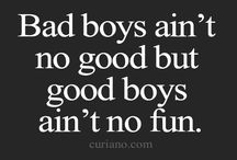 bad boys good girls