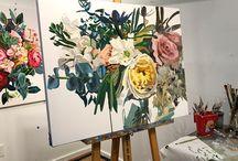 Színpompás virágok