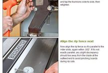 Tuning table saw
