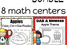 Addition Activities / Addition activities, ideas and printables to add to your preschool, kindergarten, first and second grade math centers!