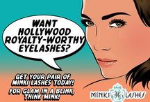 Minki Lashes Collection (Faux Lashes Styles) / Proudly presenting the luxurious Minki Lashes collection, the world's most natural-looking false eyelashes brand. Get your pair of Hollywood royalty-worthy 100% authentic Siberian mink lashes today at http://minkilashes.com. For glam in a blink, think mink! #mink #lashes #MinkiLashes #false #eyelashes #beauty #makeup