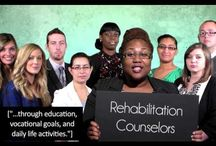 Rehabilitation Counseling Advocacy / Rehabilitation counselors advocating for persons with disabilities