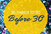 To Do before 30