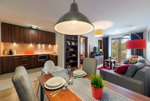 Apartamenty Jastrzębia Góra / Powstały w 2012 r Kompleks 58 Apartamentów, położony 150 metrów od bałtyckiej plaży, w spokojnej okolicy zaledwie 2 kilometrów od centrum Jastrzębiej Góry.