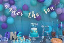 under the sea birthday/baby shower