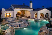Inspiration pour une piscine d'exception / Quelques idées d'aménagement de piscines originales et contemporaines
