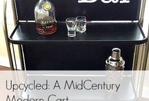 Bar Carts with Style