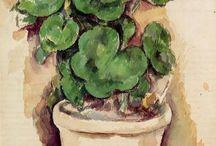 huonekasvit taiteessa