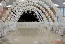 Dekoration av lokal bröllopet