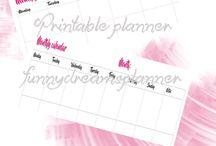 funny dreams planner / planner, agende, refill e tanto altro