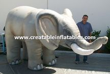 Giant Inflatable Animals / Huge Inflatable Animals.