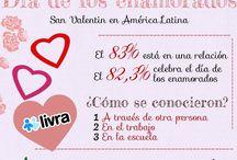 Spanish: el Día de  San Valentín / by World Languages Teachers of PBC