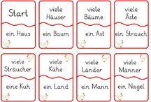 Deutsch Singular -Plural