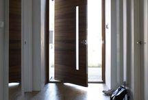 Oversized entrance doors