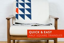 Quilting Shortcuts and Tutorials / Free quilting shortcuts and tutorials geared toward all levels of sewing. Perfect information for the new quilter and free patterns and product reviews for those who have been sewing for years.