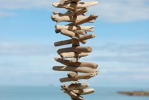 Driftwood and Stones