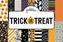 Trick or Treat | Pebbles Inc. / The season for spooks and scares is here, and Pebbles is ready to help you throw the most haunting party around with its newest collection, Trick or Treat! This Halloween line is filled with perfect party favorites, clever tricks and yummy treats to make your night a scream!
