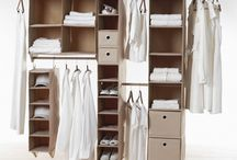 Wardrobe Makeovers / Wardrobe makeovers storage design space optimisation organisation